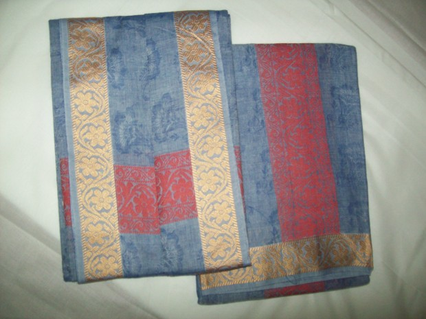 blue colour dhoti
